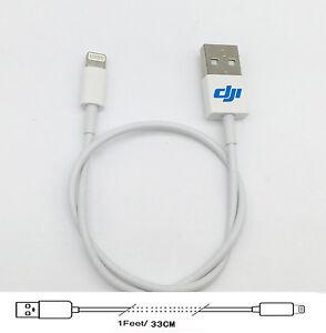 33cm-Cable-For-DJI-Phantom-3-4-inspire-2-1-Matrice-600-pro-iPhone-X-8-8P-7-6S
