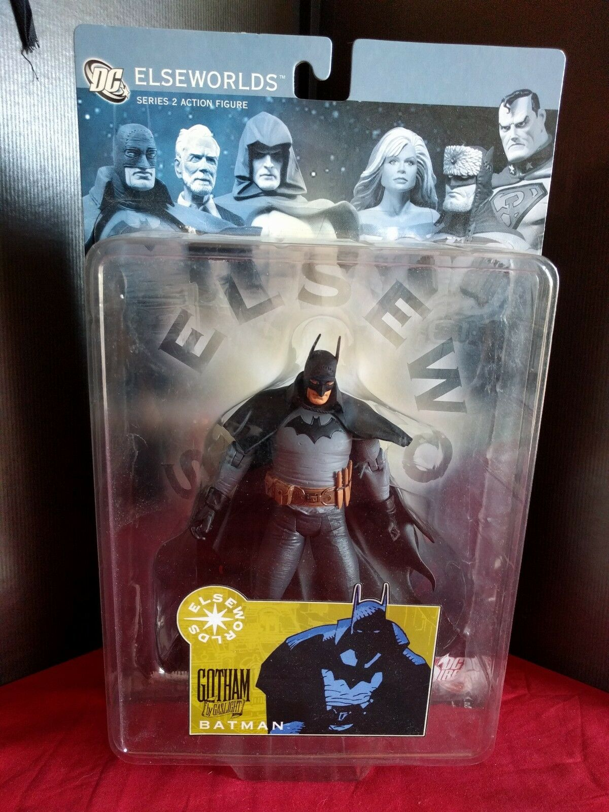 Batman Elseworlds Gotham by Gaslight Action Figure DC Ditect RARE Loose with Box