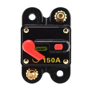 150-Amp-Manual-Reset-Circuit-Breaker-Fuse-Holder-Kill-Switch-5V-50V-DC