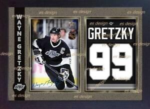 41a000903 Image is loading Wayne-Gretzky-LA-Kings-Autograph-signed-photo-print-