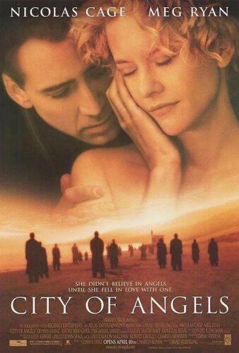 CITY OF ANGELS MOVIE POSTER ~ REGULAR 27x40 Meg Ryan Nicolas Cage