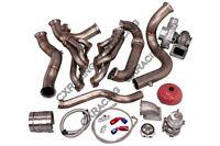 Cx Turbo Kit For 82-92 Chevrolet Camaro Sbc Small Block Header Manifold Downpipe