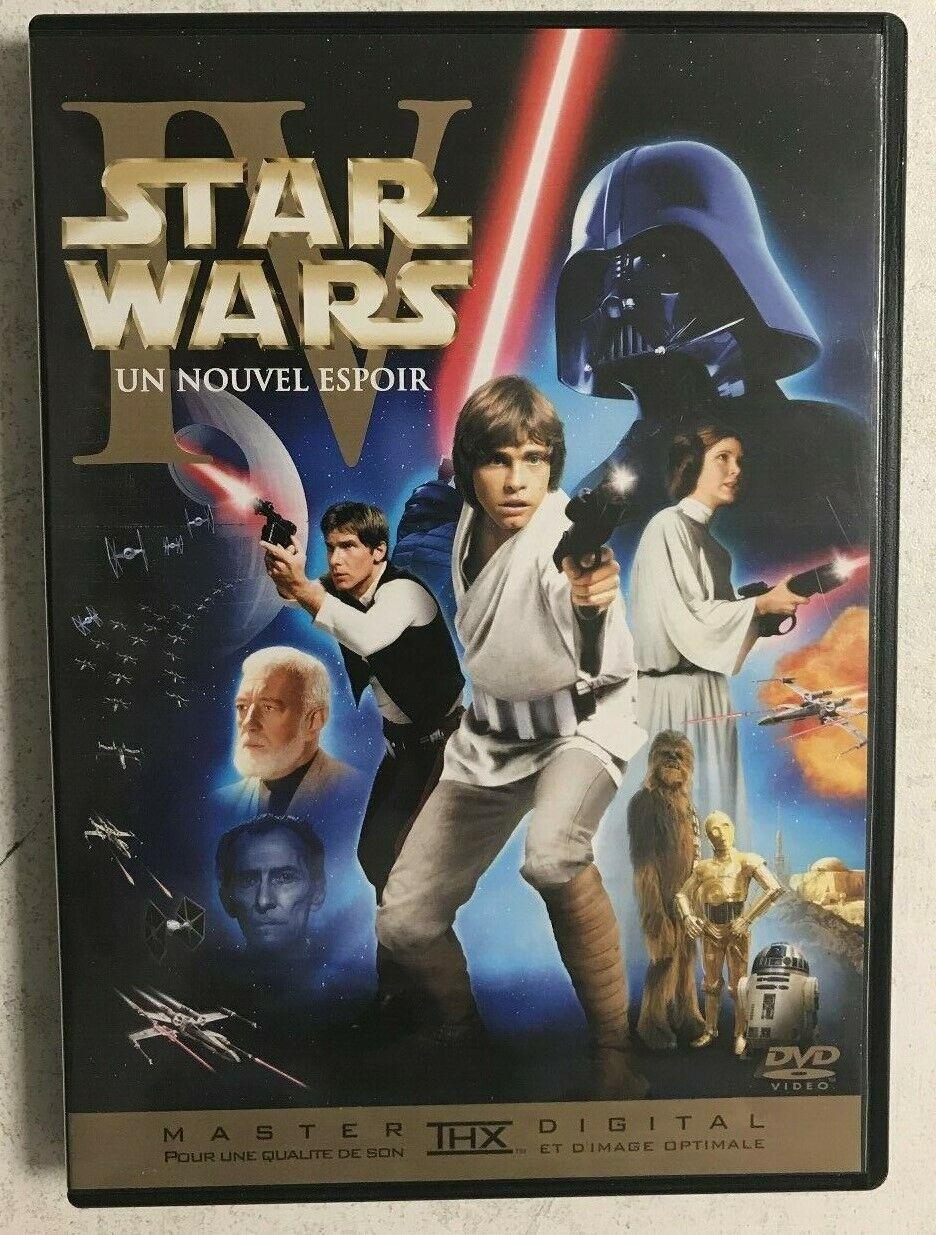 Star Wars Episode 4 La Guerre Des Etoiles Un Nouvel Espoir Dvd Achetez Sur Ebay