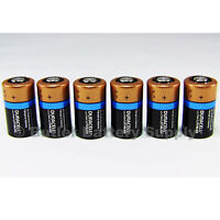 6 X Cr2 Duracell 3v Ultra Lithium Batteries ( Dlcr2, Cr17355, Elcr2, Med, Photo)