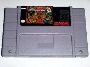 The-Amazing-Spider-man-Lethal-Foes-game-For-SNES-Super-Nintendo-Action
