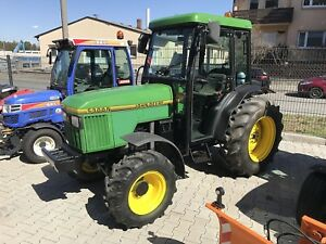 john deere 5300 n allrad traktor gebraucht ebay. Black Bedroom Furniture Sets. Home Design Ideas