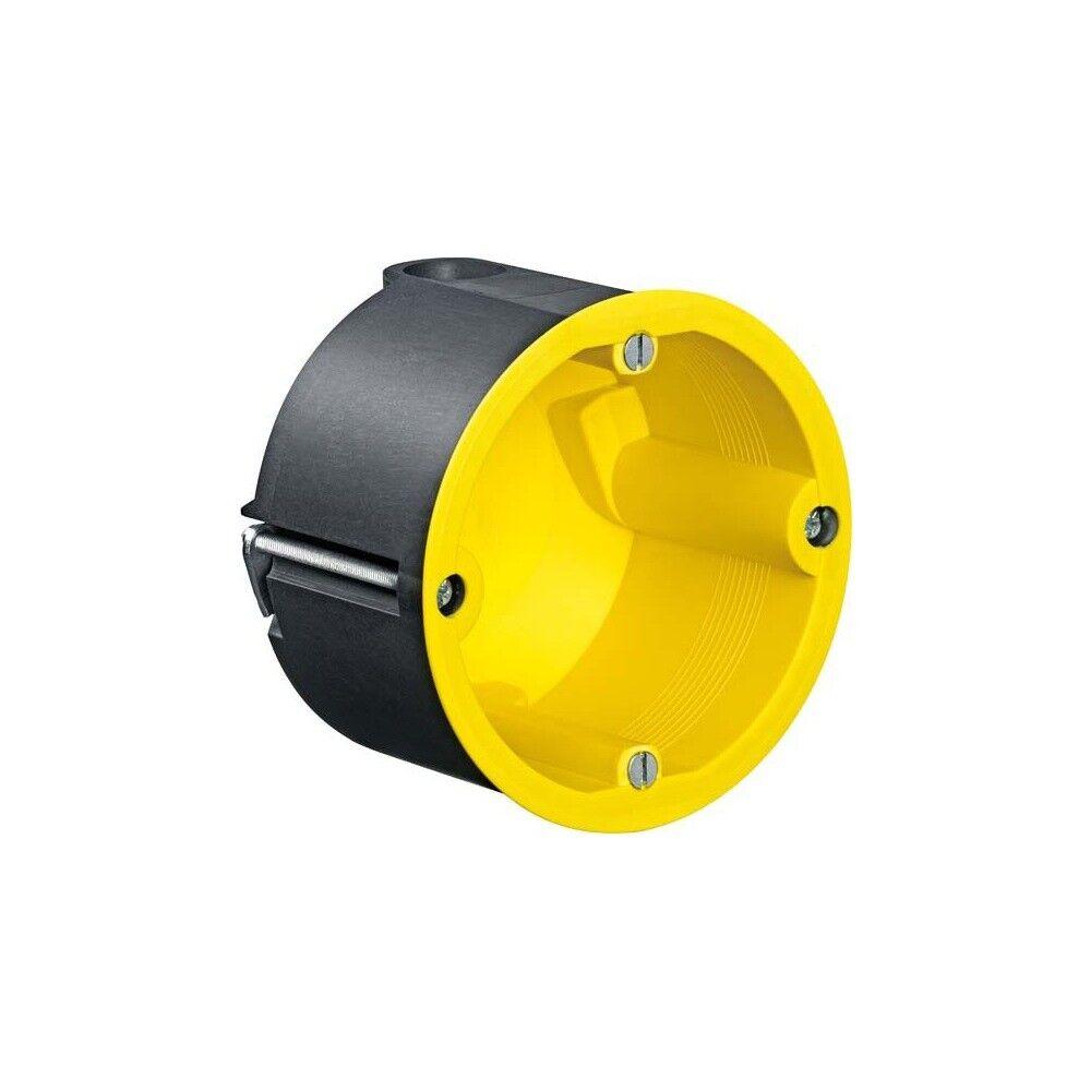 Kaiser 9074-01 Geräte-Verbindungsdose 74mm gelb Strahlenschutz tief58,5mm | Online Shop Europe