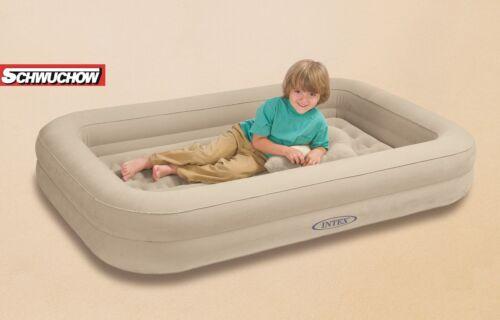 Intex lit d/'air enfants lit de voyage Lit Bébé Lit De Camping Lit D/'appoint 107x168x25 NEUF