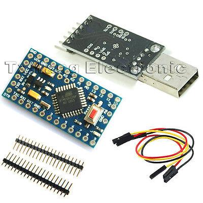 Pro Mini atmega328 5V 16M Arduino Compatible+CP2102 USB 2.0 to UART TTL