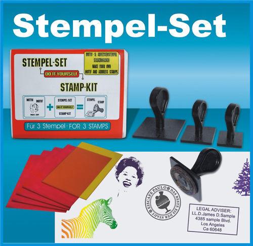stamp kit UV-lamp