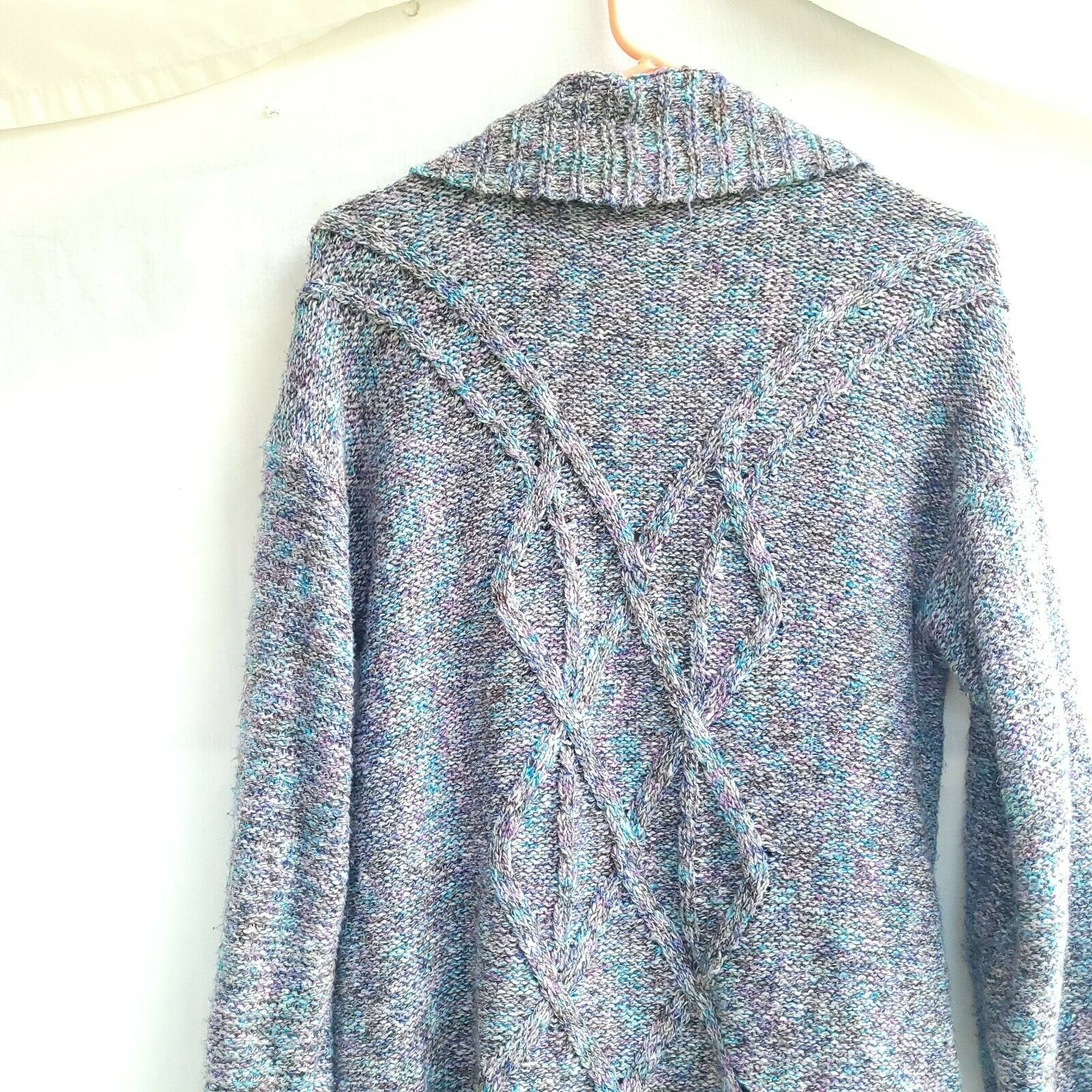 Chico's Chunky Knit Textured Sweater Open Front S… - image 5
