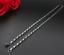 duenne-Silberkette-2MM-Halskette-60cm-lang-Edelstahl-Venezianerkette-Herren-Damen Indexbild 3