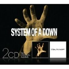 """SYSTEM OF A DOWN """"SYSTEM OF A DOWN/STEAL..."""" NEU 2 CD"""