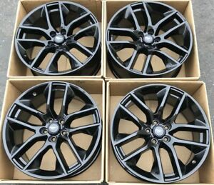Mustang Wheels For Sale >> Details About 20 Ford Mustang Gt Gloss Black Wheels Rims Factory Oem 2016 2017 2018 10039