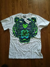 Kenzo T-shirt Tiger Jungle Adult size EU XL Slim Fit  100% NWT GLOWS IN DARK