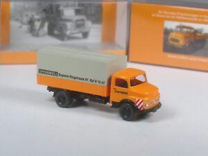 Wiking-C-amp-I-Sondermodell-Mercedes-1413-Kommunal-Edition-2-Sperrmuell-Transport