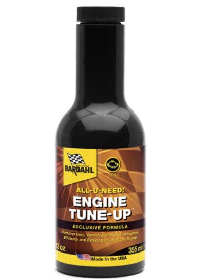 Bardahl Bardahl ENGINE TUNE-UP AND FLUSH 355ML TREATMENT CLEANING ENGINE
