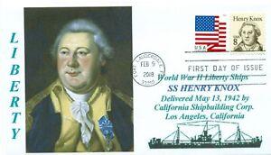 Henry-Knox-Libertad-Barco-Llamado-Americano-Revolutionary-Guerra-General-Dia-Pm