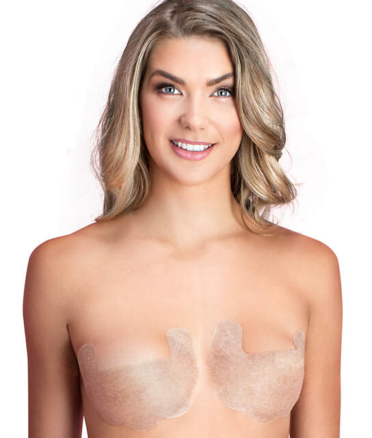 8deb140e3d Fashion Forms Nude Adhesive Body Bra Set of 3 Disposable Waterproof a Cup  for sale online