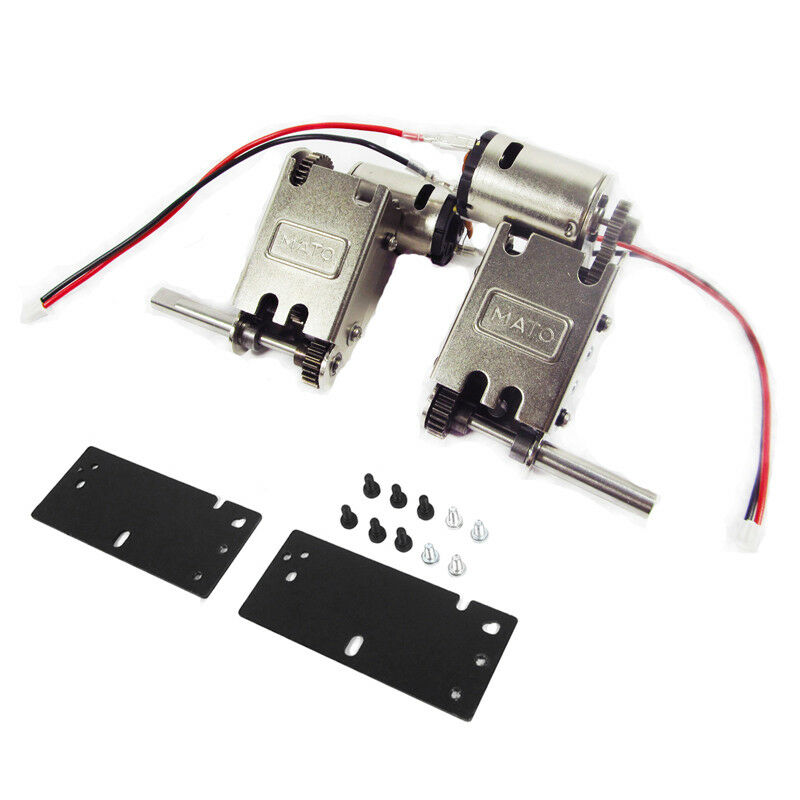 Mato 5.0 version Steel Gearscatola Engine For 1 16  Hl  Panther G retiger RC Tank  essere molto richiesto