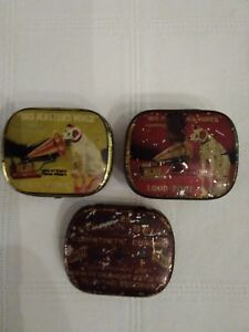 His Masters Voice Record Needles And A Other tins