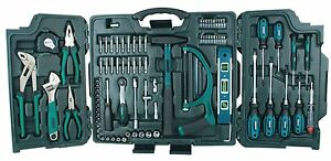 Universal-tool-set-in-89-piece-folding-case-Mannesmann-M29085-Chrome-vanadium