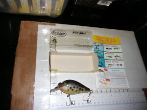 Fishing-Lure-Arbogast-Pug-Nose-Pro-Series-5-8-CrankBait-coachdog-black-white
