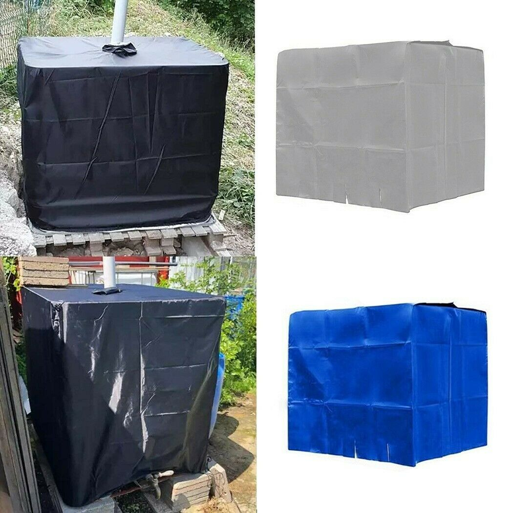 For 600 L IBC Tank Water Tank Cover Outdoor Living Dustproof Cover Durable New