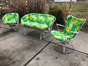Midcentury Glider Chair Cushions