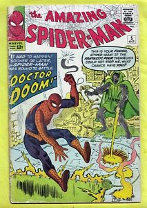 The-Amazing-Spider-Man-5-Oct-1963-Marvel-Marked-for-Destruction-by-Dr-Doom