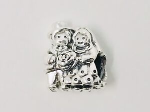 c29601e1e Image is loading Retired-Authentic-Pandora-Bride-amp-Groom-Charm-Sterling-