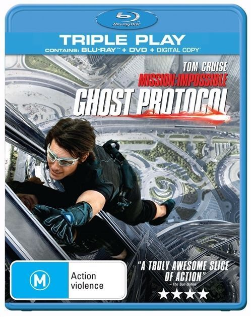 Mission Impossible - Ghost Protocol (Blu-ray only NO DVD)