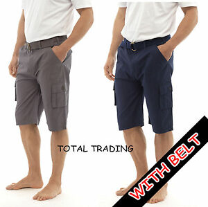 mens-summer-long-shorts-cargo-pocket-summer-casual-holiday-work-100-cotton-011