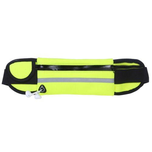 Waist Bag Neoprene Fanny Pack Sports Bum Bag Unisex Belt Pouch Running Fitness