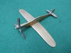 Image Is Loading SMALL SOLID BRASS MODEL OF A HURRICANE
