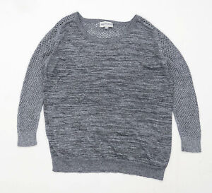 Mary-Portas-Womens-Size-16-Silver-Sparkly-Jumper-Regular