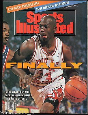 Sports Illustrated 1989 Chicago Bull's Michael Jordan No Label Excellent