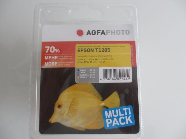 AGFA PHOTO  kein original T1285 Multipack epson stylus SX-230 -235 -440 -430W