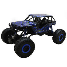 1/10 Scale 2.4Ghz 4 Wheel Drive Rock Crawler Radio Remote Control RC Car Blue