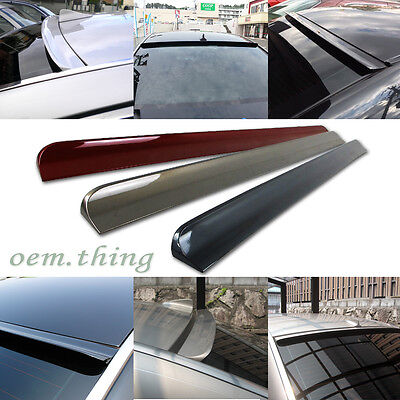 Painted Buick LaCrosse 4DR Rear Roof Window Sport Visor Spoiler 2013 PUF