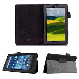Slim-de-cuero-plegable-funda-para-Amazon-Kindle-Fire-HD-7-2015-Tablet-Black-OP