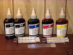 Bulk-500ml-refill-ink-for-Brother-inkjet-printer-4-colors