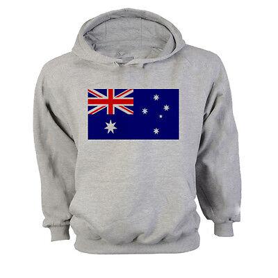 2019 Neuestes Design Australia Flag Hoodie Sweatshirt Jumper - All Sizes