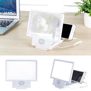 Projecteur de support de loupe 3D HD agrandisseur d'écran de téléphone