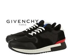 NEW GIVENCHY CURRENT LOW TOP LEATHER TECHNO ACTIVE RUNNER SNEAKERS SHOES 42/9