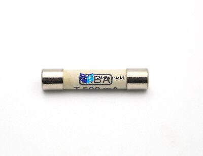 1PCS SIBA Ceramic Tube Time-Lag Cylindrical Fuse 4A T4A H500V