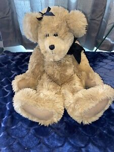 Sally-Winey-Bear-034-Jointed-Mohair-20-1284-Tag-Handmade-Vintage-beautiful-Signed