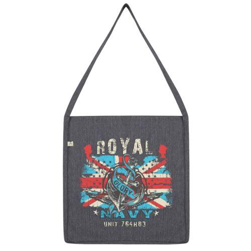 Twisted Envy Union Jack Royal Navy Tote Bag