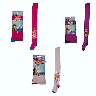 Disney Frozen Princess Anna Queen Elsa Tights Socks Girls Brand New Gift