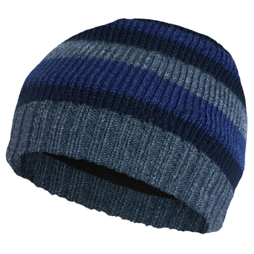 Blue Men/'s Hat Thinsulate Fleece Lined Warm Winter Angling Fishing Work ee1